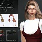 Long Sims 4 Hair In The Wind S Club Wm
