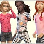 Long Sleeve Sims 4 T Shirt