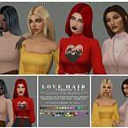Love Sims 4 Hair