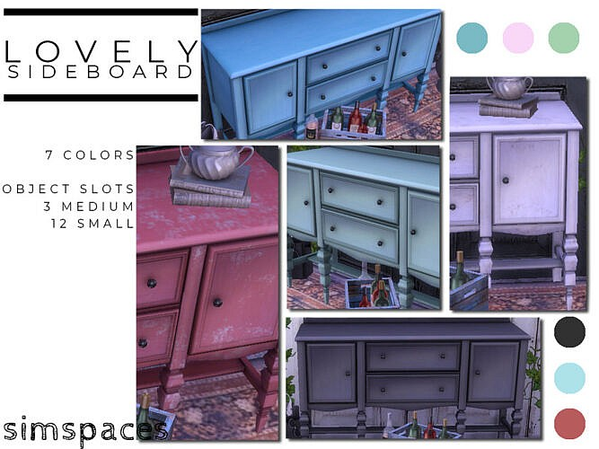 Lovely Sims 4 Sideboard 2