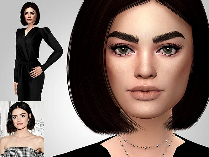Lucy Hale Sims 4