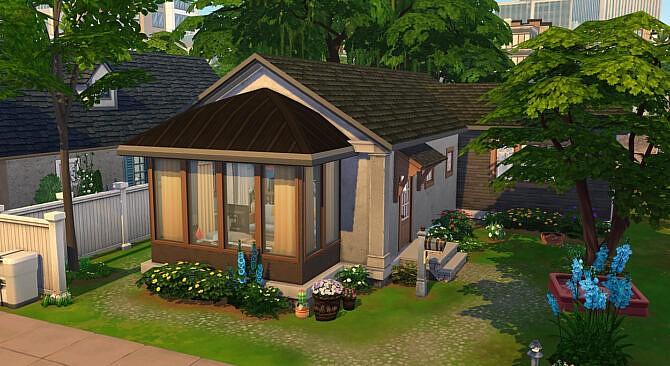 Luminous Habitat Sims 4