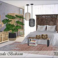 Masala Sims 4 Bedroom