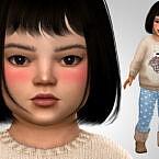 Mei Aido Sims 4 Toddler Girl