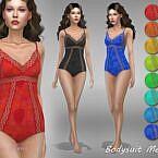 Meja 10 Sims 4 Bodysuit
