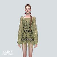 Mesh Mini Sims 4 Dress