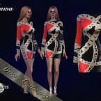 Miawa Sims 4 Dress