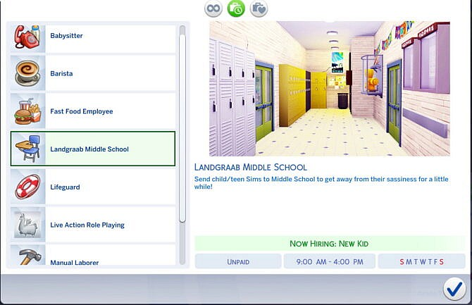 Sims 4 Middle School MOD PACK V1.0 at Mod The Sims 4
