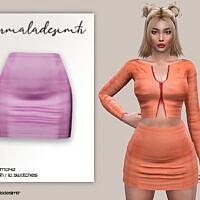 Mini Sims 4 Skirt Mc142