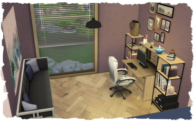 Sims 4 Minna house by Chalipo at All 4 Sims