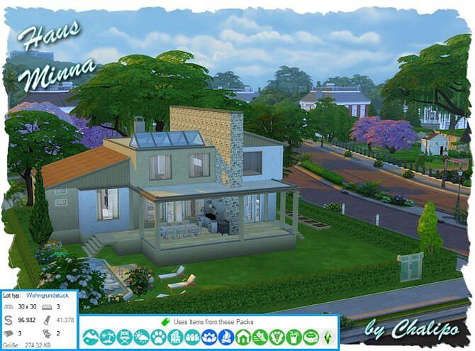 Minna Sims 4 House