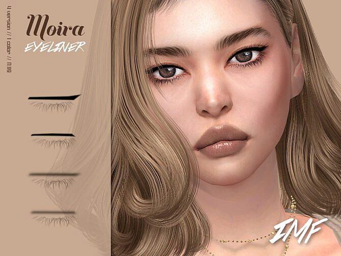 Sims 4 Moira Eyeliner N.119 by IzzieMcFire at TSR