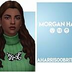 Morgan Sims 4 Hair