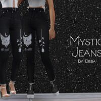 Mystic Sims 4 Jeans