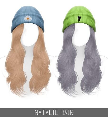 Natalie Sims 4 Hair