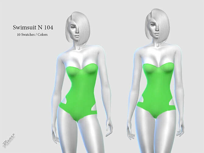 Sims 4 SWIMSUIT N 104 by pizazz at TSR