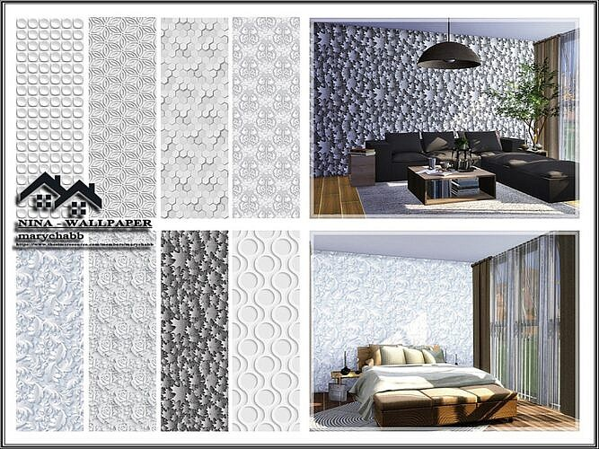 Nina Sims 4 Wallpaper