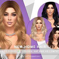 New Home Sims 4 Hair
