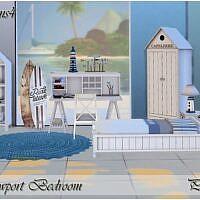 Newport Sims 4 Bedroom