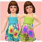 Nika Sims 4 Dress Toddler Girls