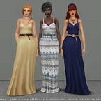 Ophelia Sims 4 Dress