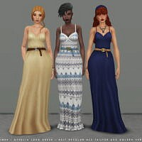 Ophelia Sims 4 Dress