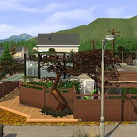 Overgrown Sims 4 Estate
