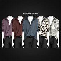 Oversized Shirt Sims 4 Am