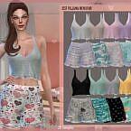 Pajama Sims 4 Nenufar
