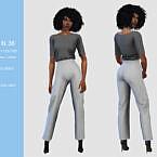 Pants Suit Sims 4 36 By Pizazz