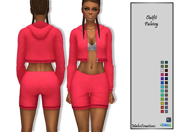 Paleivy Sims 4 Outfit