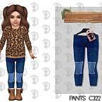Pants Sims 4 C322
