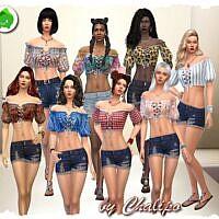 Para 2 Sims 4 Blouse