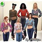 Para Sims 4 Blouse