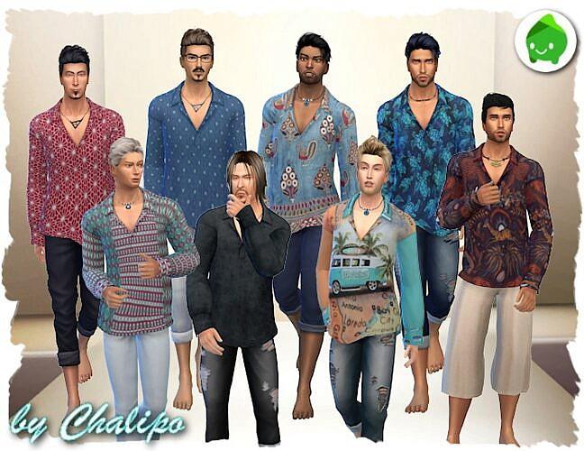 Para Shirt For Males By Chalipo