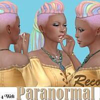 Paranormal Sims 4 Hair Recolors 1