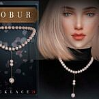Pearl Sims 4 Necklace 24