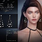Pearl Sims 4 Earrings S Club Ll