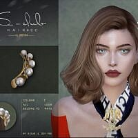 Pearl Hairpin Sims 4
