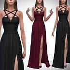 Pentagram Sims 4 Gown