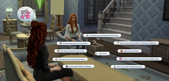 Sims 4 Pet Lover Social Interactions by helaene at Mod The Sims 4