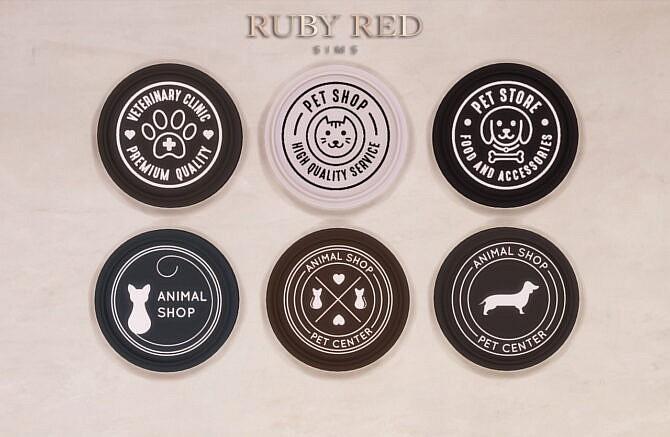 Sims 4 Pet Shop CC Set at Ruby Red