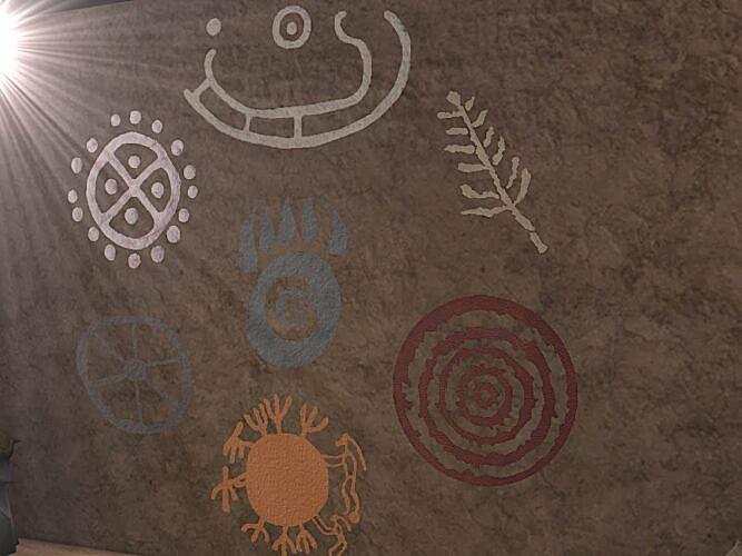 Petroglyphs Symbols Sims 4