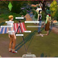 Photography Aspiration Sims 4
