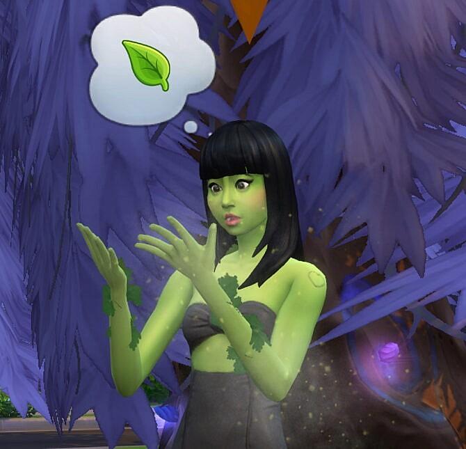 Sims 4 PlantSims Keep Their Hair by Gulbasaur at Mod The Sims 4