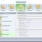 Platinum Artist Sims 4 Aspiration