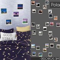 Polaroids Sims 4