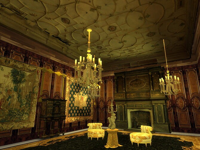 Sims 4 Rococo Cabinet & Ceiling at Anna Quinn Stories