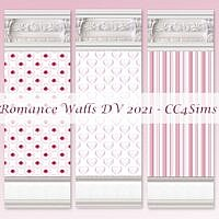 Romance Sims 4 Walls By Christine