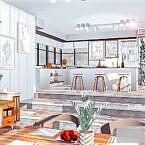 Rose Sims 4 Kitchen